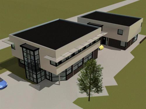Bedrijfswoning en bedrijfsruimte in Groesbeek