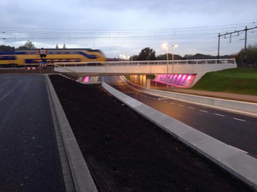 Spoorweg viaduct Maastricht