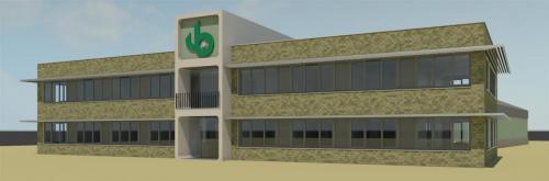 Nieuwbouw kantoorpand Van Boekel